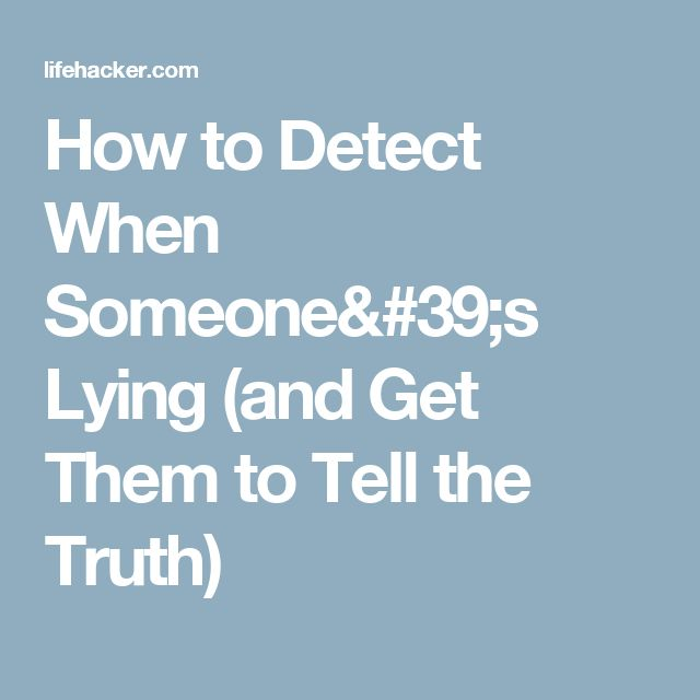 cause and effects of telling lies The detrimental effects of lies  telling lies has become a common trait today, and it is something which has become the cause of much strife in societies,.