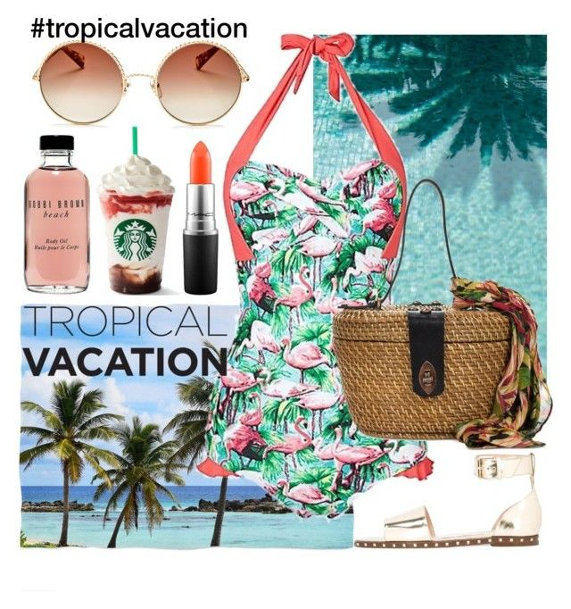 """""""Untitled #478"""" by ngkhhuynstyle ❤ liked on Polyvore featuring Joe Browns, Patricia Nash, Valentino, Bobbi Brown Cosmetics, MAC Cosmetics and Marc Jacobs"""