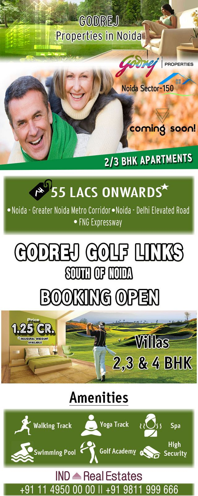 https://flic.kr/p/RJ91se | Godrej Properties | Godrej Properties presenting their new residential project nearby Noida Greater Noida Expressway, Sector 150 Noida & greater noida Sector 27, near Pari Chowk. Click here for more info: www.indrealestates.com/builder/godrej-properties/