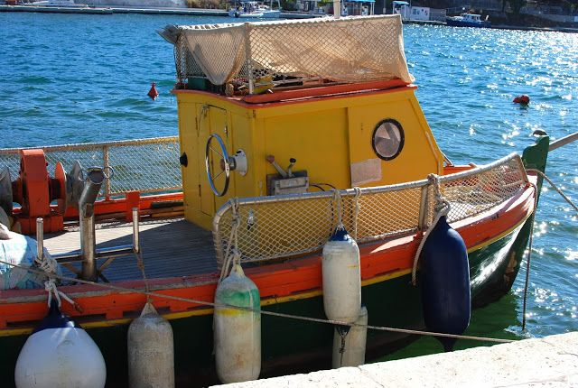 Lovely little boat in Milna, Brac.