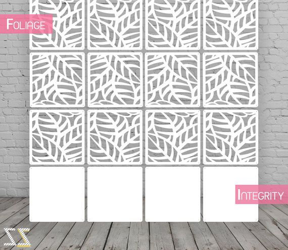 room divider screen partition wall room divider foliage 12 pieces