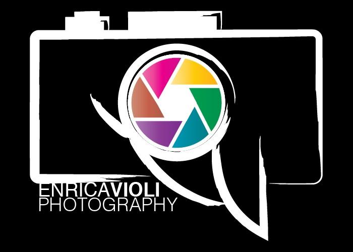 """Logo """"EV Photography"""" WHITE - © Gianfranco Nicoletti 2013"""