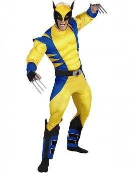 Wolverine X-Men Superheld kostuum