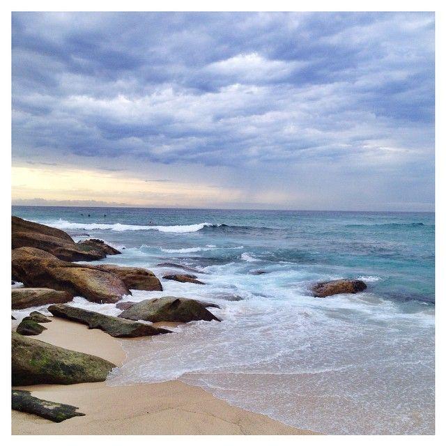 Sunrise on Tamarama beach, Sydney