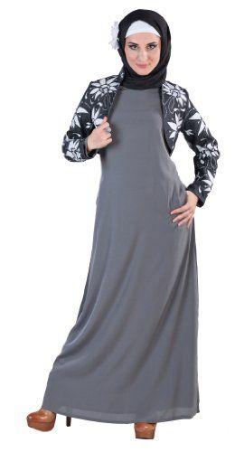 Basic Abaya http://suliaszone.com/basic-abaya-dark-grey-large/