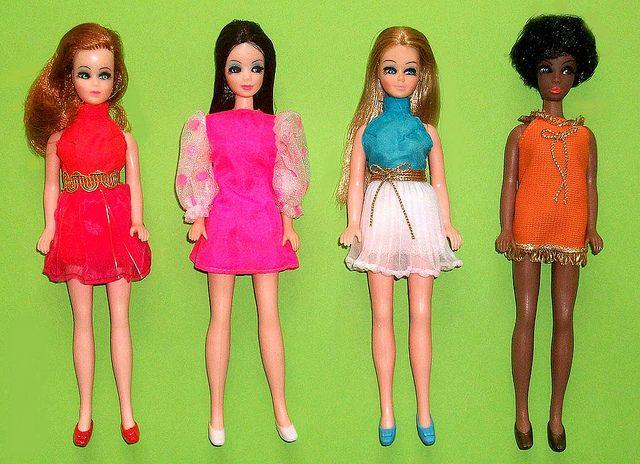 Glori, Angie, Dawn, & Dale dolls - The original 4 dolls by Topper