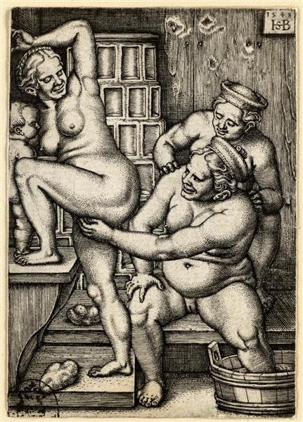 Tits, love Midieval erotic art ass hole