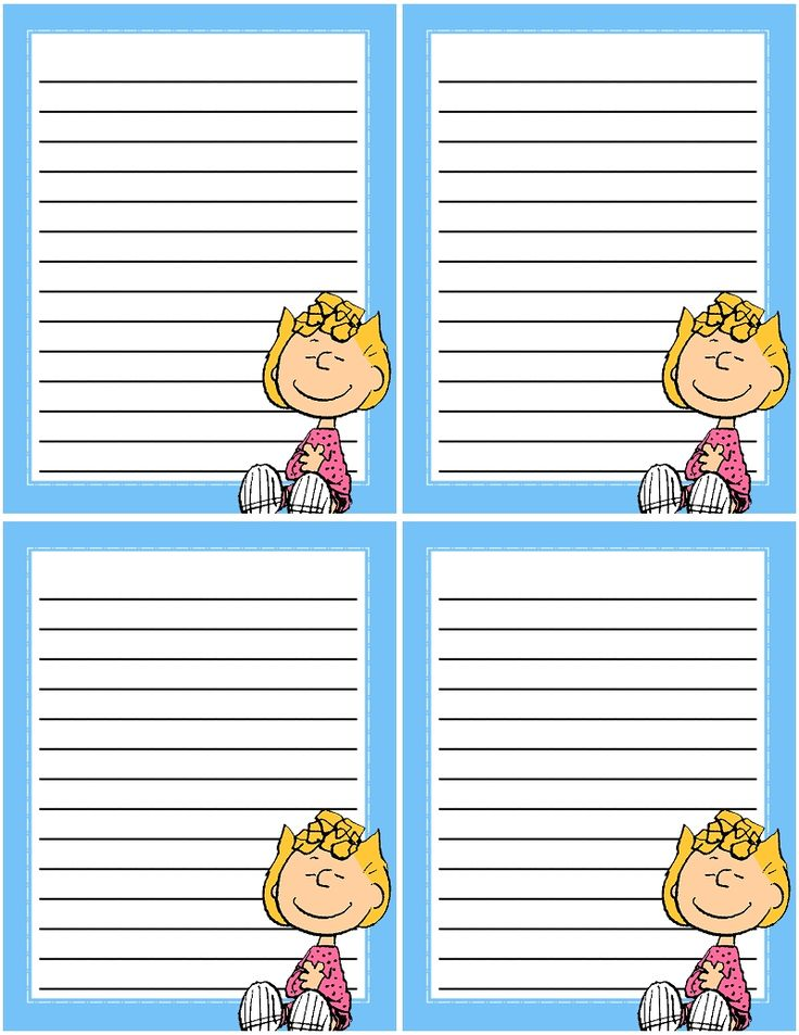 FREE printable mini notes. Free to use and free to share