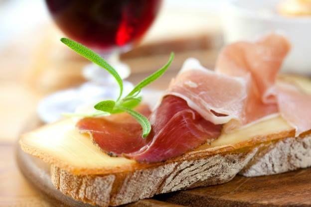 Prosciutto on Italian bread | Italy & Italians | Pinterest