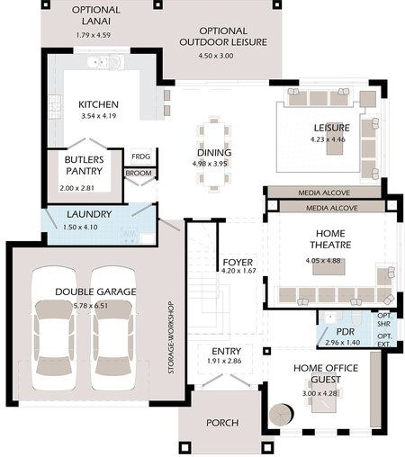 Home Theater Room Size: 1000+ Images About Floor Plans On Pinterest
