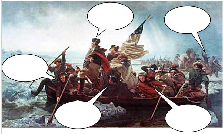 Use speech bubbles on famous paintings to get students thinking/writing