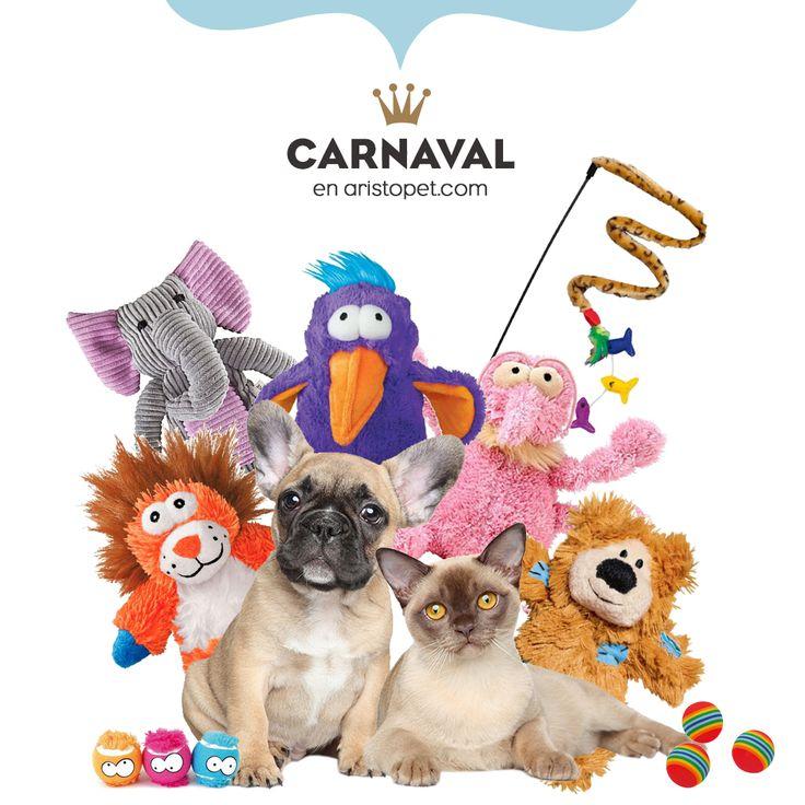 🎉¡Festeja Carnaval con una fiesta de juguetes!🎉 En ARISTOSHOP puedes encontrar una selección divertida de peluches, pelotas, cañas, mordedores, etc. para tu ARISTOPET. ✨ 5€ DESCUENTO ✨ introduciendo el código: CARNAVAL  ➡️️ Visítanos en ARISTOPET.COM/ARISTOSHOP