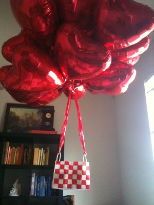 1000 images about valentines on pinterest valentine 39 s for Balloon decoration for valentines day