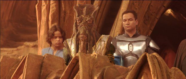 *STAR WARS: Episode II - Attack of the Clones (2002) Characters: Boba Frett & Jango Fett