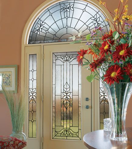Traditional And Classic Front Entry Glass Doors By Plastpro Exterior  Fiberglass Doors With Decorative Glass Door Inserts.