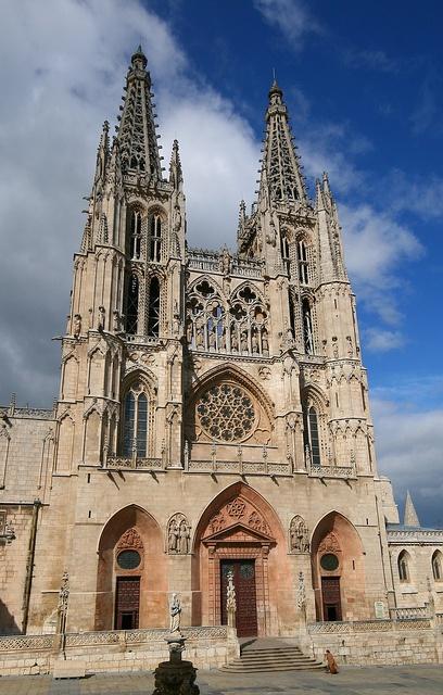 Burgos Cathedral, Madrid, Spaid