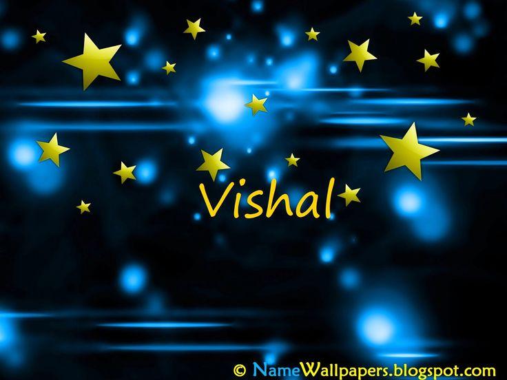 Download Vishal Name 3D Wallpaper Gallery