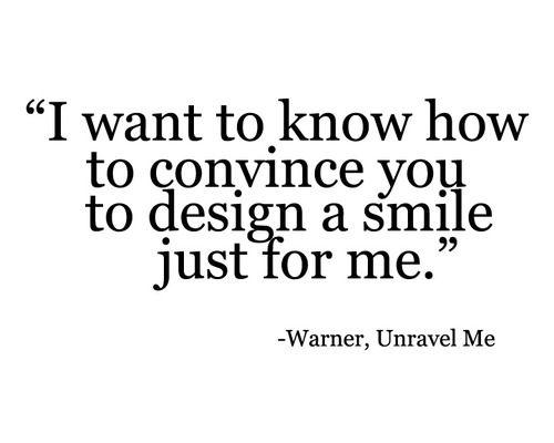 Aaron Warner,  Shatter Me