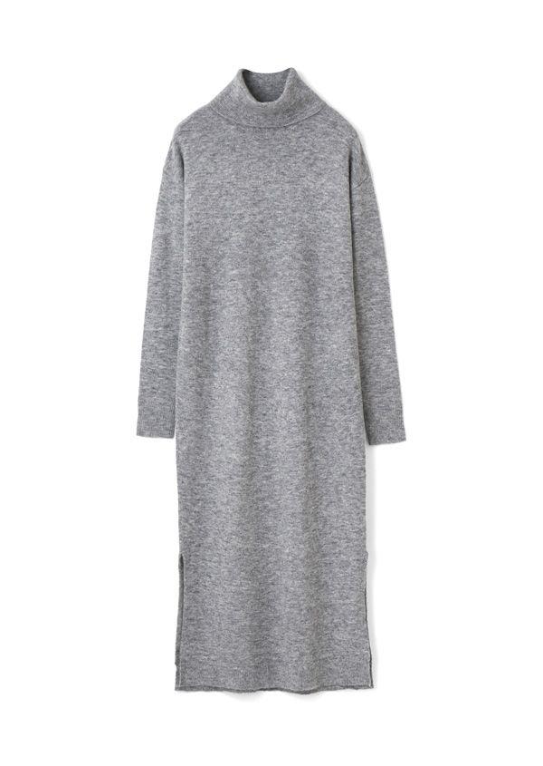 Alta タートルネックロングドレス