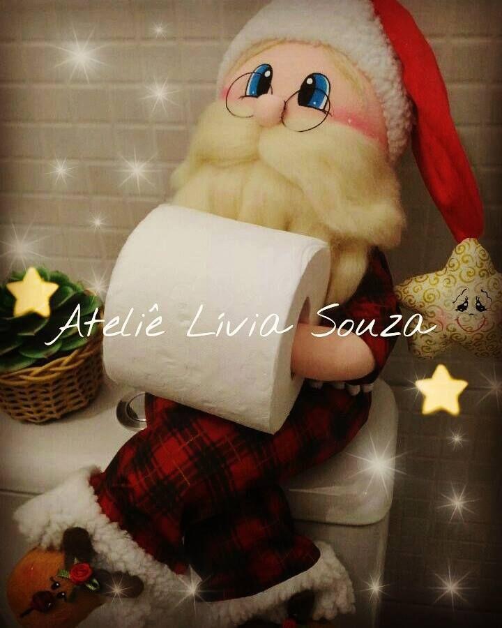 Noel Natal Navidad www.facebook.com/AtelieLiviaSouza instagram @atelie_livia_souza