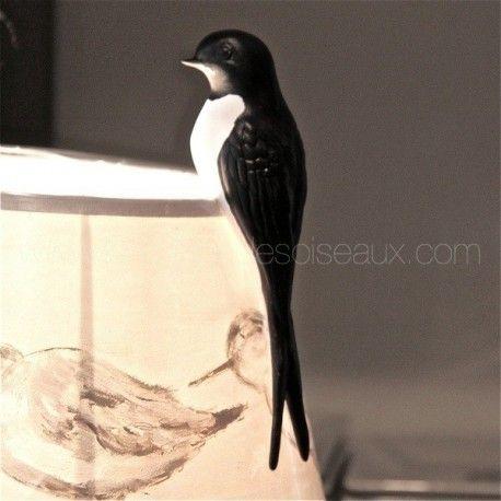 En exclusivité à LA MAISON DES OISEAUX et nulle part ailleurs ! Peinte à la main par Claude Georgin artiste peintre et sculpteur d'oiseaux. En biscuit de porcelaine - L 15cm Peut servir aussi comme diffuseur de parfum d'ambiance.