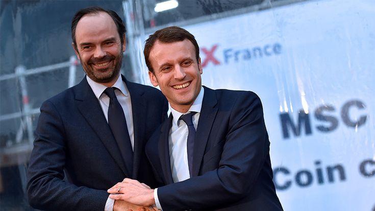Cote de confiance : Emmanuel Macron et Edouard Philippe partent de très bas selon un sondage