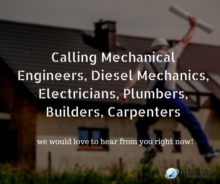 Calling Mechanical Engineers, Diesel Mechanics, Electricians, Plumbers, Builders, Carpenters if you are in New Zealand on any visas, We help with Electrical and Plumbing registration, IPENS evaluation and your new CV! We can help to apply for a new visa and get you up-to-date with current industry practice. ● Please mention in your cover letter where you are in the world, why you chose to settle in New Zealand, how soon can you come to New Zealand if invited, what is your IELTS level.