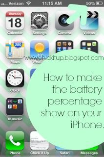 how to show battery percentage on iphone 5 pin by v e r o n i c a on iphone computer 8209