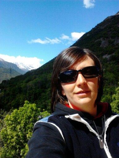 Io e le montagne della mia valle d aosta