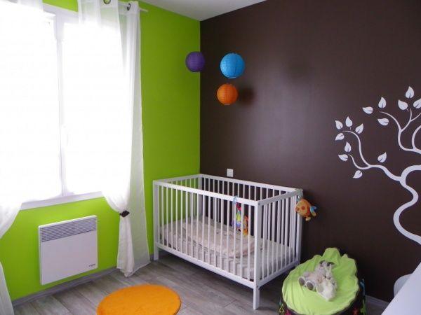 Chambre enfant Brun Vert Nature