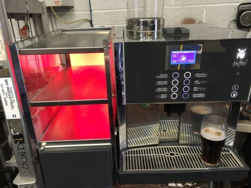 Wmf #bistro bean to cup commercial coffee #espresso #cappuccino machine & fridge,  View more on the LINK: http://www.zeppy.io/product/gb/2/172507869945/