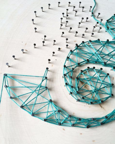 DIY String Art Projects - Typographic String Art Tutorial - Cool, Fun and Easy Letters, Patterns and Wall Art Tutorials for String Art - How to Make Names, Words, Hearts and State Art for Room Decor and DIY Gifts - fun Crafts and DIY Ideas for Teens and Adults http://diyprojectsforteens.com/diy-string-art-projects