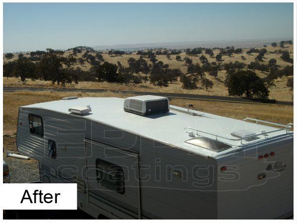Liquid Roof Coatings For RV Roof Leaks Repair