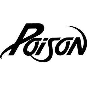 New Custom Screen Printed Tshirt Poison Band Music Small - 4XL Free Shipping. $16.00, via Etsy.