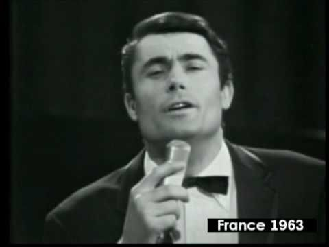 ✿ ❤ Perihan ❤ ✿ France 1963 - Alain Barriere - Elle Etait si Jolie (Alain Barriere finished in 5th place in the 1963 Eurovision Song Contest with this song, which was held in London.)