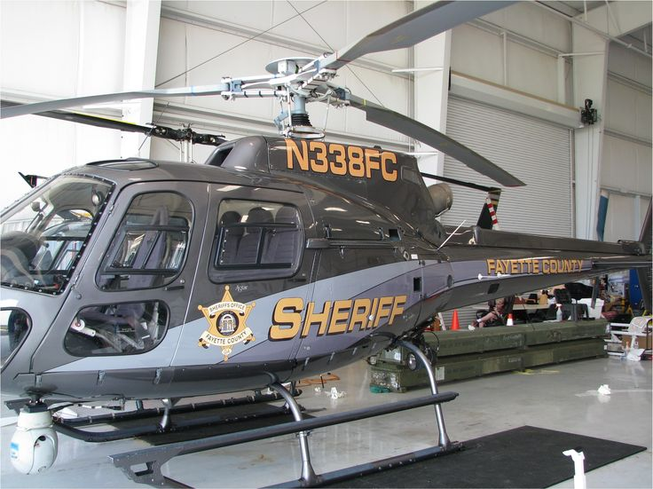 Another look at Fayette County Sheriff's helicopter