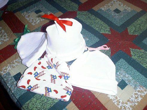 Sewing Tutorial for Newborn cap