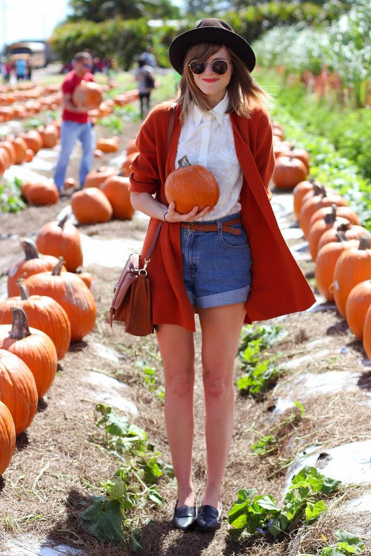 outfit for a day at the pumpkin patch