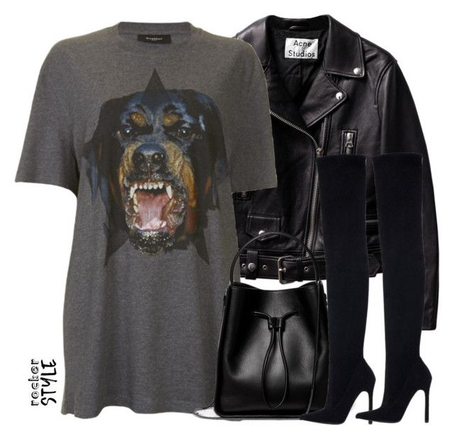 """""""Untitled #4309"""" by maddie1128 ❤ liked on Polyvore featuring Givenchy, 3.1 Phillip Lim, Zara, rockerchic and rockerstyle"""