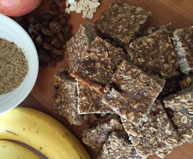 Recipe Healthy banana and oat slice by Thermomixing it my way - Recipe of category Baking - sweet