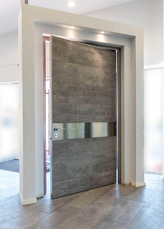 Το απόλυτο design σε μια πόρτα ασφαλείας