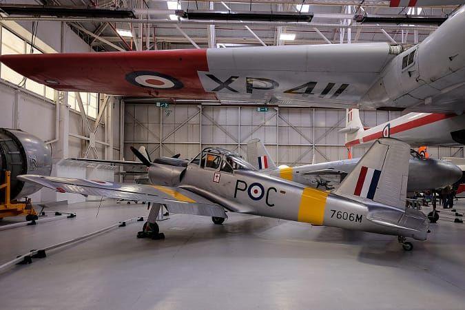 RAF Cosford Chipmunk