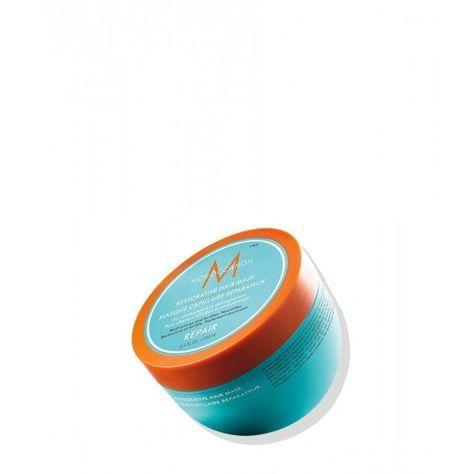 Repair : Moroccanoil Mascarilla Capilar Reconstituyente Moroccanoil Mascarilla Capilar Reconstituyente Moroccanoil Mascarilla Capilar Reconstituyente, rica en aceite de argán y proteínas vegetales, la mascarilla reconstituyente de Moroccanoil es uno de los mejores tratamientos para cabellos maltratados químicamente. La mascarilla reconstituyente de Moroccanoil es idónea si tienes cabello teñido, decolorado, con mechas, moldeados o alisadores. Mascarilla reconstituyente de Moroccanoil 250 ml