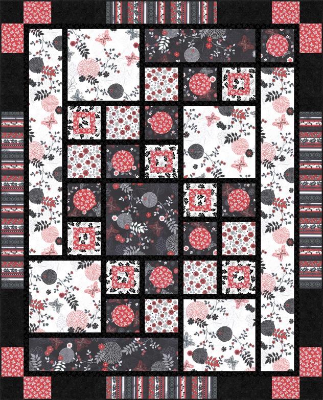 46 best Nancy Mahoney - Quilt Designer images on Pinterest   Quilt ... : black and white quilt patterns free - Adamdwight.com