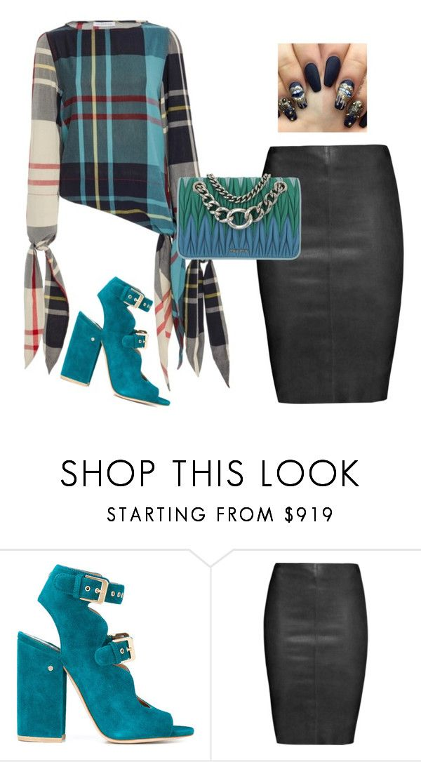 """""""Untitled #421"""" by jo-anna-jarvis ❤ liked on Polyvore featuring Laurence Dacade, Jitrois and Miu Miu"""