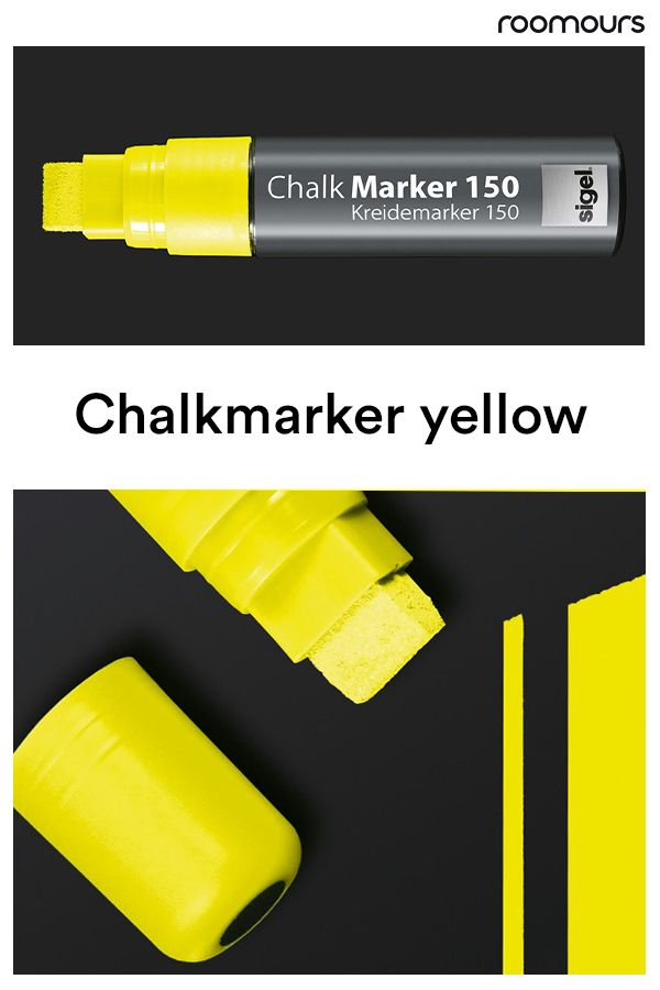 The Broad Water Based Chalkboard Markers With A 5 15 Mm Chisel