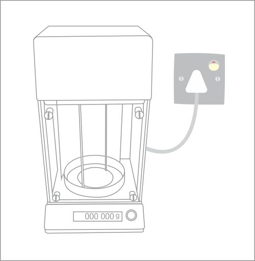 Balance - DDS CALORIMETERS  If a balance is supplied, ensure that a sturdy, stable weighing surface is available. A mains outlet and balance connecting cable will also be required.