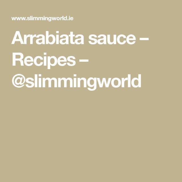 Arrabiata sauce – Recipes – @slimmingworld