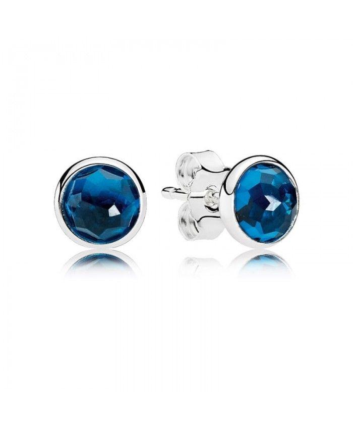 Pandora December Droplets Stud Earrings UK