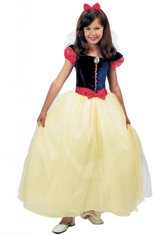Snow White Prestige Child Costume Disney New Style